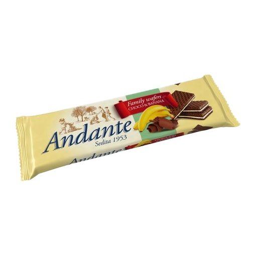 Andante töltött ostya csoki banán 130g