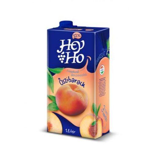 Hey-Ho őszibaracklé 12% gyümölcstartalommal 1l