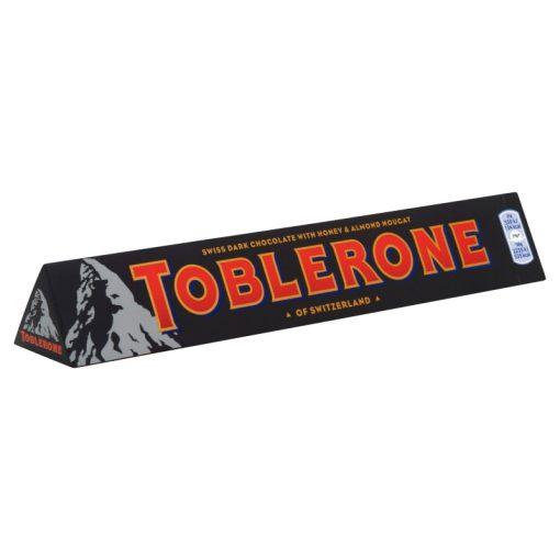 Toblerone étcsokoládé mézzel és mandulával 100g