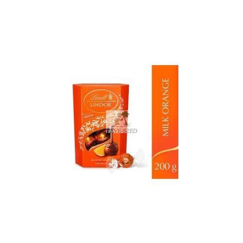 Lindt Lindor csokoládé praliné orange 200g