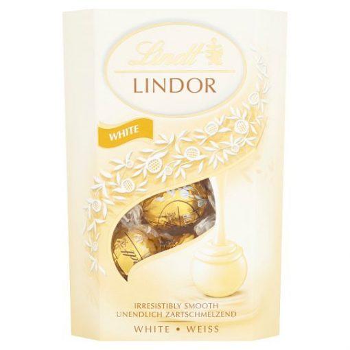 Lindt Lindor csokoládé praliné fehér csokoládé 200g