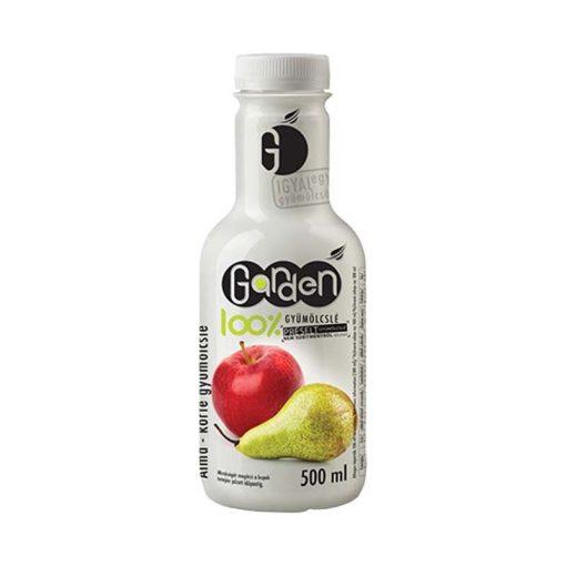 Garden 100%-os gyümölcslé alma-körte 500ml