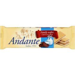 Andante töltött ostya csokoládé tej 130g