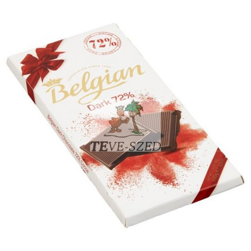 Belgian étcsokoládé dark 72%