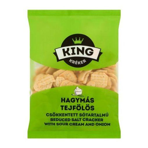 King kréker hagymás-tejfölös 100g
