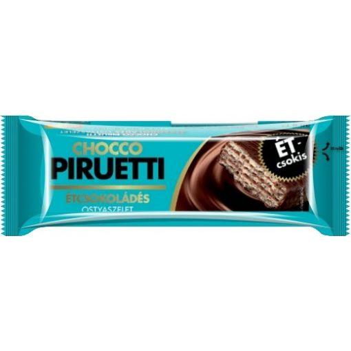Chocco Piruetti ostya étcsokoládés 36g