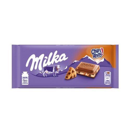 Milka tejcsokoládé Chips Ahoy 100g