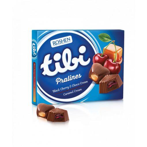 Tibi praliné cseresznye-karamell ízű 119g