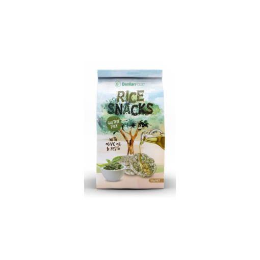 Benlian mini puffasztott rizs pesto olivaolaj 50g