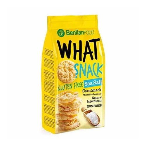 Benlian What Snack puffasztott kukorica tengeri só 50g
