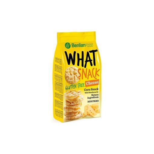Benlian What Snack puffasztott kukorica sajtos 50g