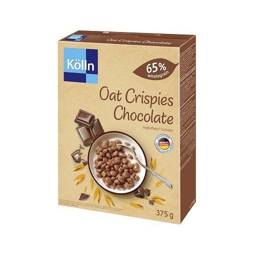 Kölln ropogós csokoládés zabgolyók 375g