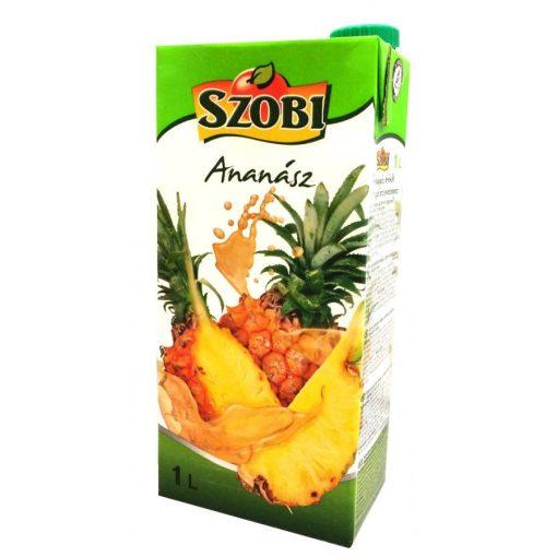 Szobi gyümölcslé 12% ananász 1l