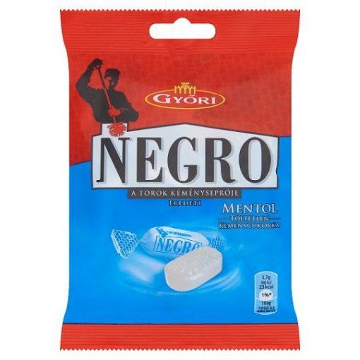 Negro cukorka mentolos 79g