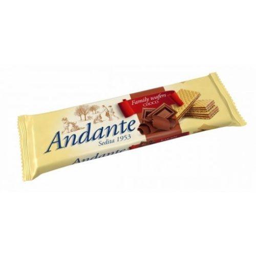 Andante töltött ostya tejcsokoládé 130g