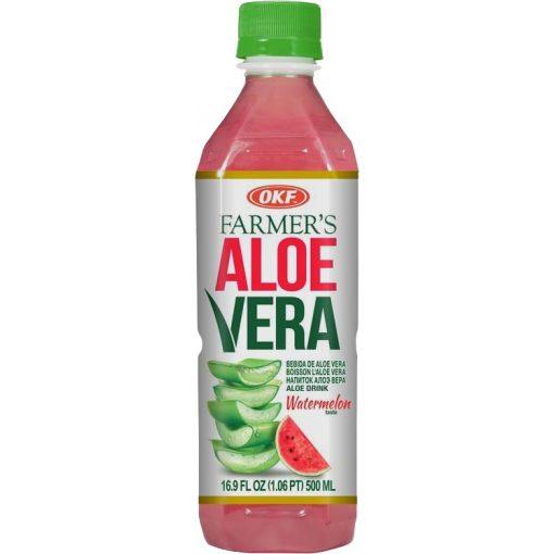 OKF Aloe Vera görögdinnye ízű ital 500ml