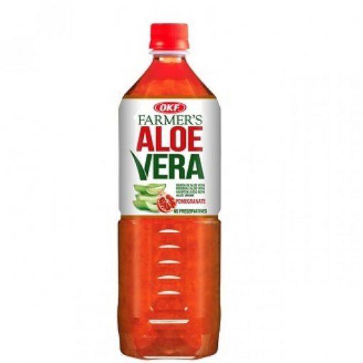 Aloe Vera ital gránátalma ízesítésű 1l