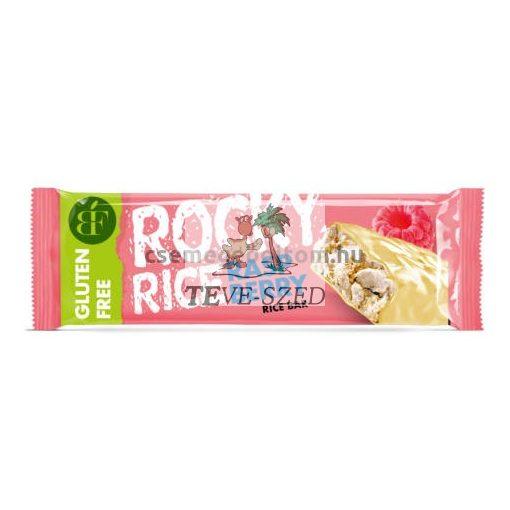 Rocky Rice gluténmentes puffasztott rizs szelet málnás 18g
