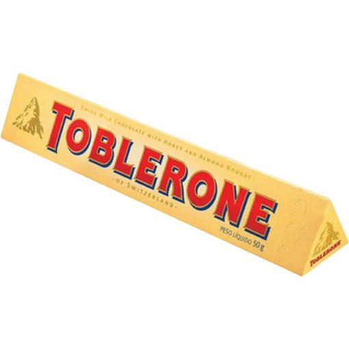 Toblerone tejcsokoládé 50g