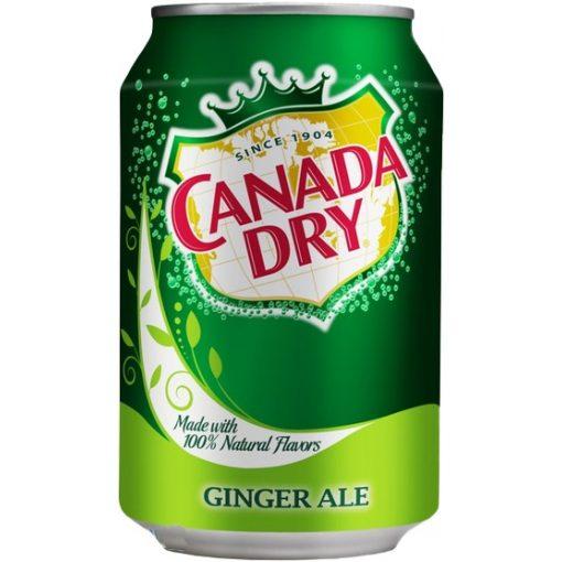 Canada Dry szénsavas üdítőital 330ml