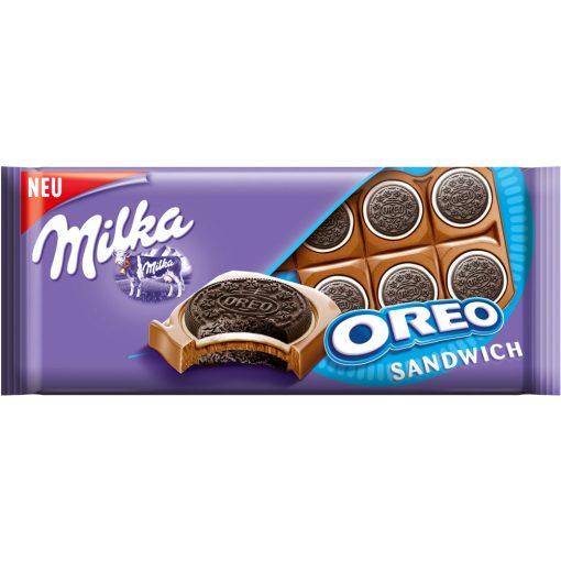 Milka Oreo sandwich tejcsokoládé 92g