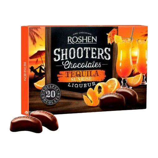 Roshen Shooters Tequila Sunrise étcsokoládés praliné 150g