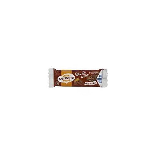 Cerbona müzliszelet csokoládé 20g