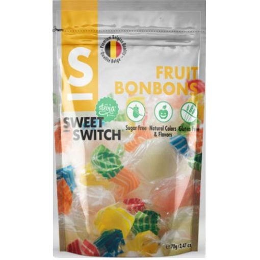 Sweet Switch Fruit bonbons hozzáadott cukor nélkül 70g
