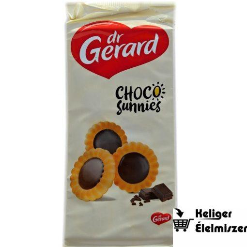 Dr Gerard csokoládés krémmel töltött virág alakú keksz 150g