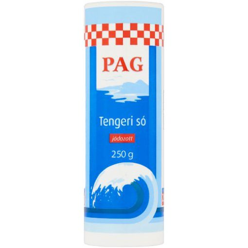Pag tengeri só dobozos 250g