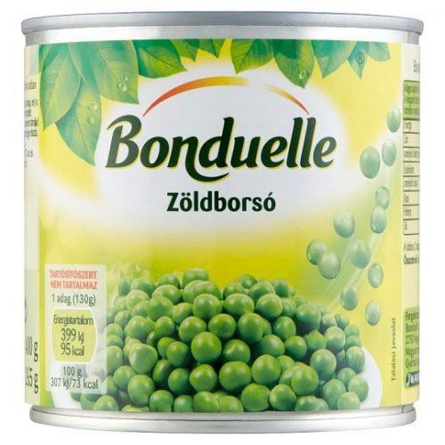Bonduelle zöldborsó konzerv 400g