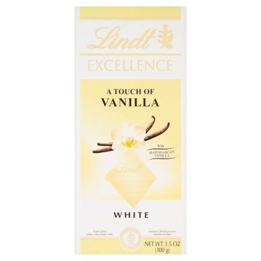 Lindt Excellence fehér csokoládé vanília 100g