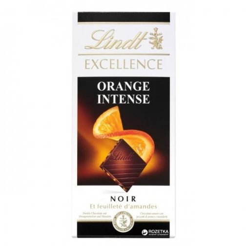 Lindt Excellence étcsokoládé narancsos 100g