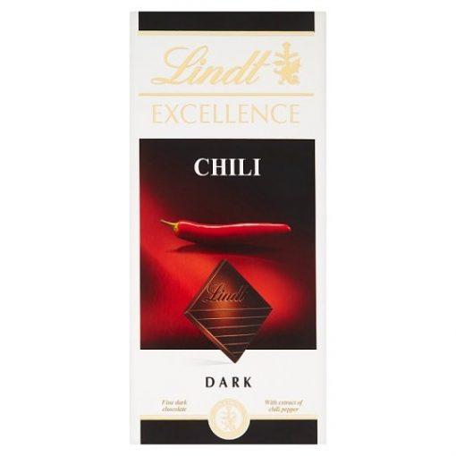 Lindt Excellence étcsokoládé chili 100g