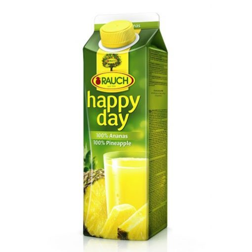Happy day nektár ananász 100% 1l
