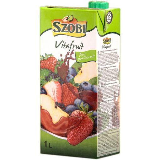 Szobi gyümölcslé 12% 1l piros gyümölcsös