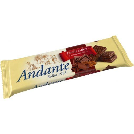 Andante töltött ostya extra csoki 130g