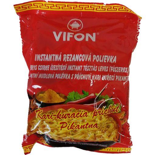 Vifon instant tésztásleves curry ízesítésű 60g