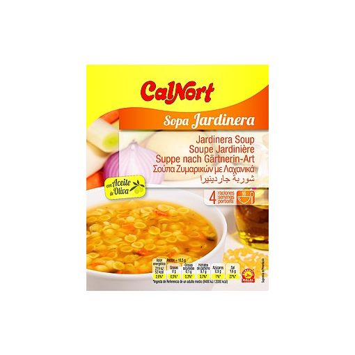 Calnort instant húsleves Kertészné módra 66g