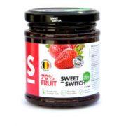 Sweet Switch hozzáadott cukormentes lekvár eper 280g