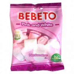 Bebeto Pillecukor Pink&White 60g