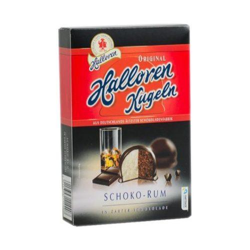 Halloren Praliné csokoládé-rum 125g