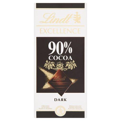 Lindt excellence étcsokoládé 90% 100g