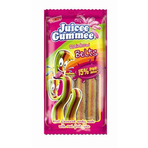 Juicee Gummee Rainbow Belts 85g