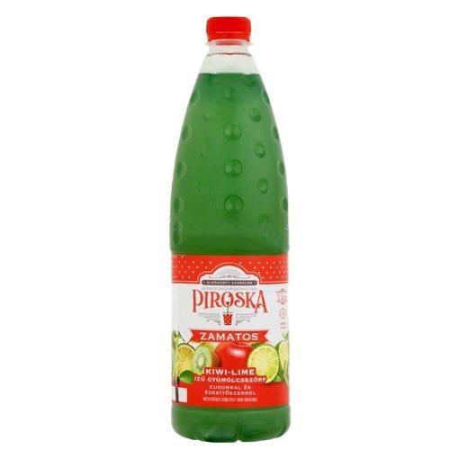 Piroska szörp kiwi-lime ízű 1 liter