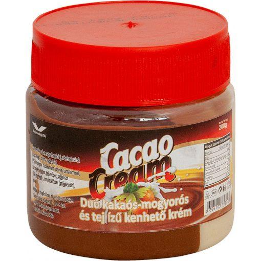 Cacao cream duo kakaós-mogyorós-tejes krém 200g
