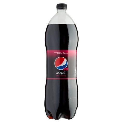 Pepsi Black Cherry szénsavas üdítőital 1,75l