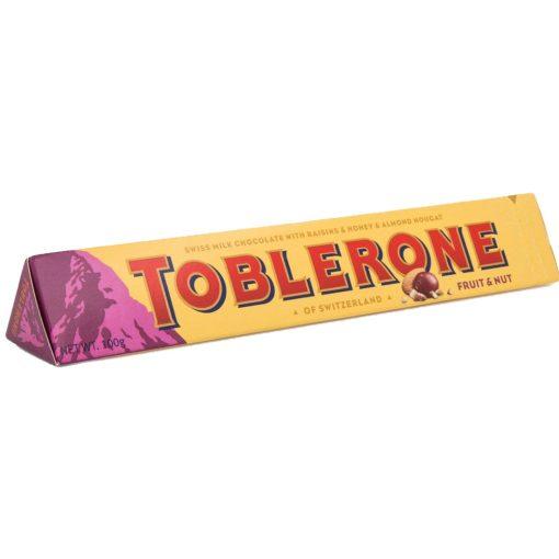 Toblerone tejcsokoládé mazsolás mogyorós 100g