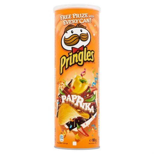 Pringles paprikás ízesítésű snack 165g