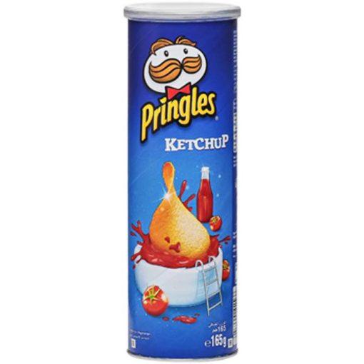 Pringles ketcup ízesítésű snack 165g